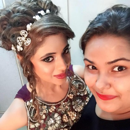 Make-Up Artist Bhumika post on Hairstyles and Makeup India Page by Spas and Salons India