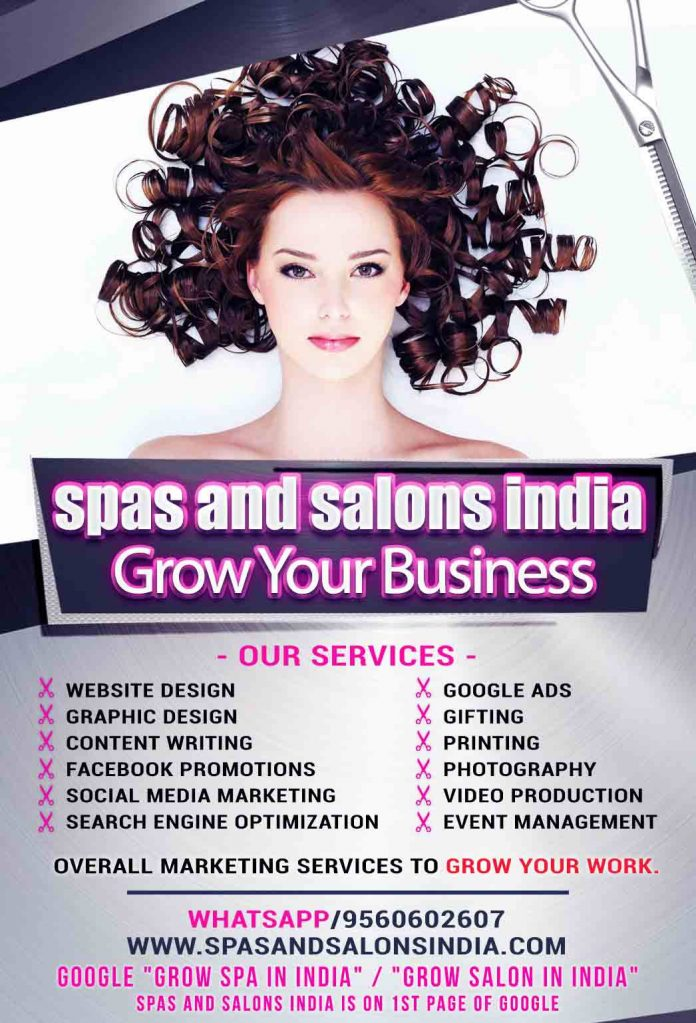 Grow Your Work with Spas and Salons India - For Spas, Salons, Make-Up Artists, Hair Stylists and Skin Care Specialists