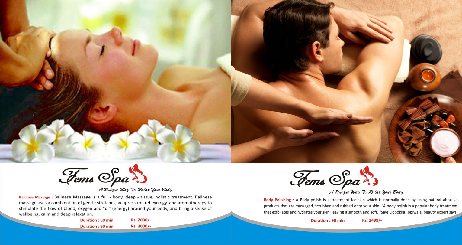 Balinese Massage and Body Polishing in Kotla Defence Colony South Extension Delhi NCR - Fems Spa - Spas and Salons India